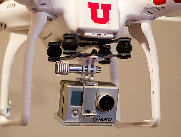 GoPro DJI Phantom anti-jello mount
