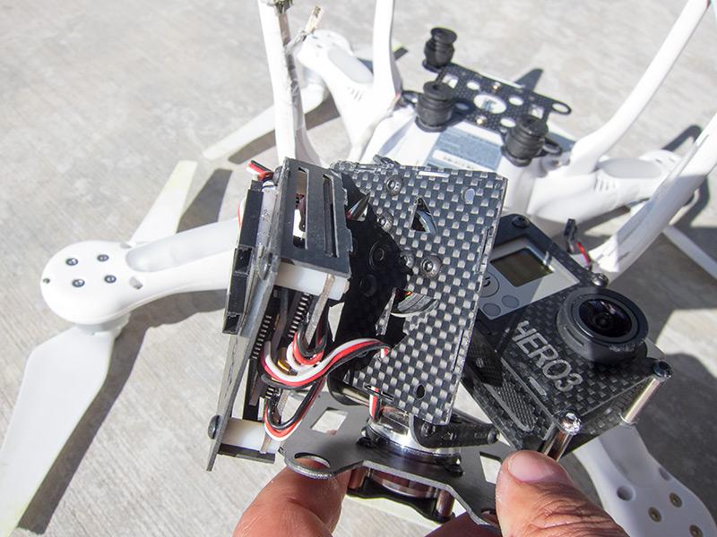 Broken Arris CM3000 Gimbal