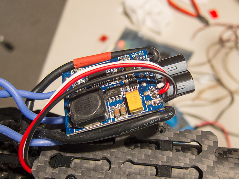 Re-wired ESC