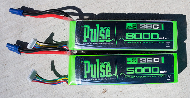 Pulse Battery 5000mAh 6S 35C Lipo