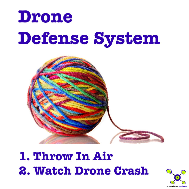 The best anti-drone weapon on the planet can be found at many common stores and only costs a few cents...