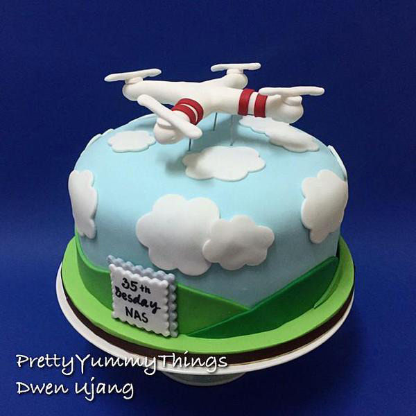 Drone Cake Ambient Flight
